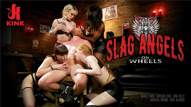 Slag Angels On Wheels