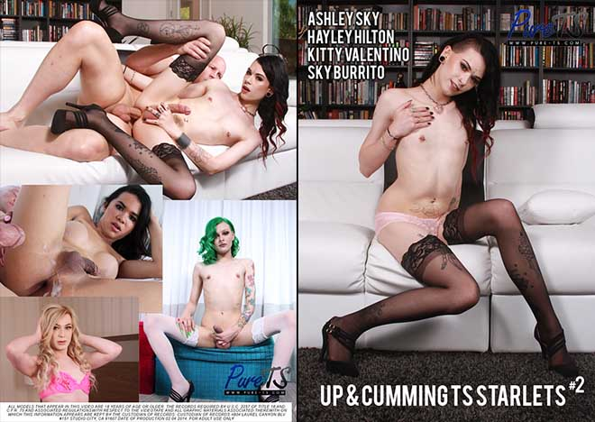Up & Cumming TS Starlets 2